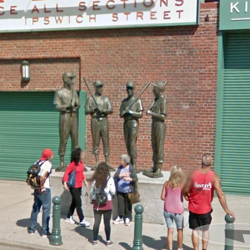 Boston Teammates statue (StreetView)