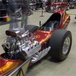 Tom Hoover's 1966 dragster (StreetView)