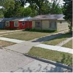 Oak Park,MI Lustron Homes (StreetView)
