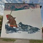 Eskimo mural in Bydgoszcz