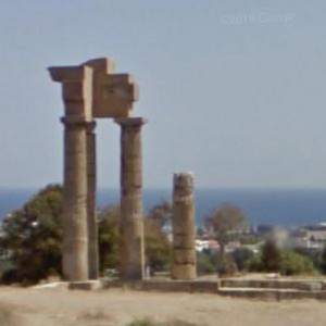 Acropolis of Rhodes (StreetView)