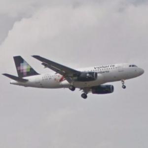 "Volaris Airbus A319-133 ""Riviera Nayarit"" [XA-VOH] (StreetView)"