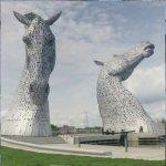 'The Kelpies' by Andy Scott
