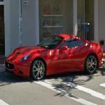 Ferrari California in California (StreetView)