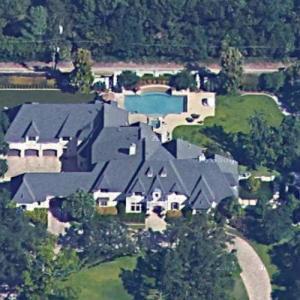 Mike Modano's House (Google Maps)