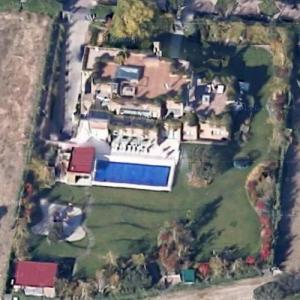 Gareth Bale's Madrid house (Google Maps)