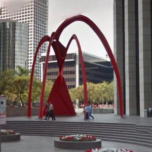 'Four Arches' by Alexander Calder (StreetView)