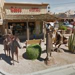 Native Americans Iron Sculpture (StreetView)
