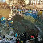 Protest in Kiev (StreetView)
