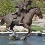 Captain James Jack statue (StreetView)