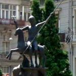 Saint George Slaying the Dragon (StreetView)