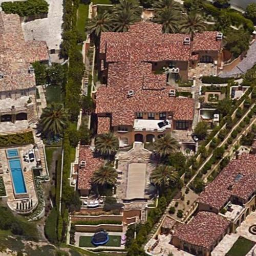 Kobe Bryant's House (Google Maps)