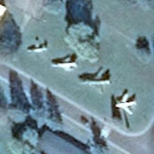 Swidwin aircraft exhibition (Google Maps)
