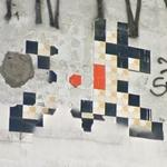 Graffiti by Invader (StreetView)