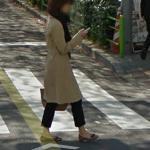 Phone Watching in a Crosswalk