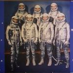 'Mercury Seven' Astronauts (StreetView)