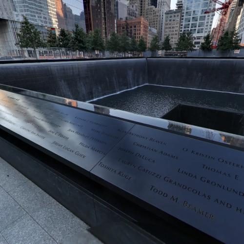 South Tower Memorial, United Flight 93 (StreetView)