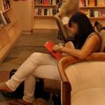 Person Reading a Book (StreetView)