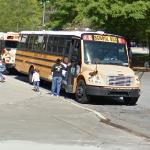 Students on a School Bus (StreetView)