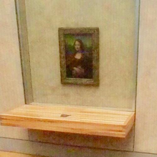 Mona Lisa by Leonardo da Vinci (StreetView)