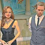 Brad Pitt and Angelina Jolie wax figures (StreetView)