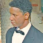 Denzel Washington wax figure (StreetView)