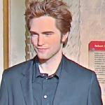 Robert Pattinson wax figure (StreetView)