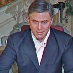 George Clooney wax figure (StreetView)