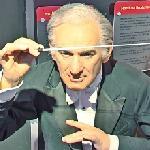 Leonard Bernstein wax figure (StreetView)