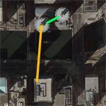 Nik Wallenda's Chicago tight rope stunt (Google Maps)