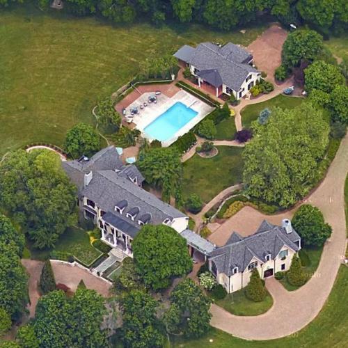 Race Car Danica Patrick >> Darrell Waltrip's House in Franklin, TN (Google Maps)