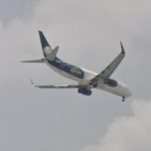 """Aeroméxico Boeing 737-800 """"Corona"""" (StreetView)"""