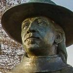 Stevie Ray Vaughan statue (StreetView)