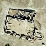 """Movie set for """"The Alamo"""" (historical imagery) (Google Maps)"""