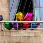 'Tulips' by Jeff Koons (StreetView)