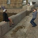 Posing for a picture (StreetView)