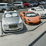 Supercars: Rolls Royce, Lamborghini, Bemtley etc (StreetView)