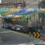 Decoration on the R. Pereira Nunes (2014 FIFA World Cup) (StreetView)