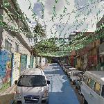 Decoration on the R. Tavares Bastos (2014 FIFA World Cup) (StreetView)