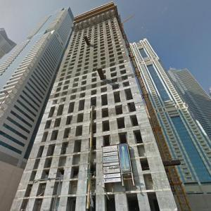 106 Tower under construction (StreetView)