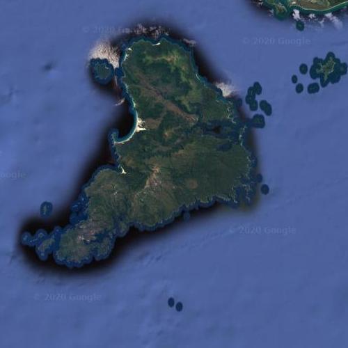 Stewart Island (Google Maps)