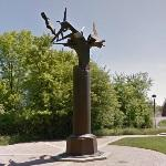 'Column of the Free Spirit' by Richard Hunt (StreetView)