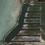 Former US Naval Florida Keys Submarine Pits (Google Maps)