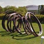 'Three Indeterminate Lines' by Bernar Venet (StreetView)