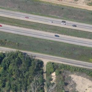 Michigan I-94 multiple-vehicle collision site (Google Maps)