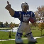 Indianapolis Colts Inflatable (StreetView)
