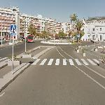 The 1st Corner of the Former Valencia Street Circuit (StreetView)