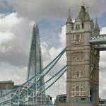 Old and new; Tower Bridge and The Shard (StreetView)