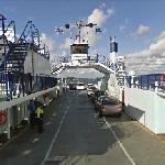 Google Car on a Ferry (StreetView)