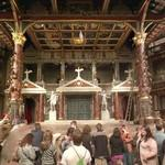Stage of Shakespeare's Globe theater (StreetView)